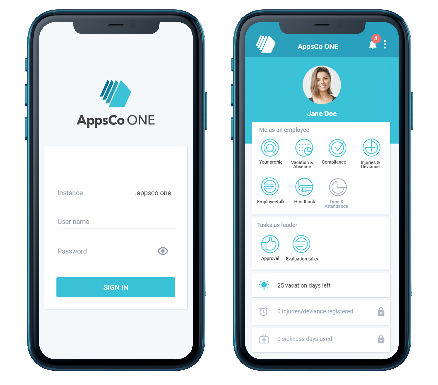 The AppsCo One user - friendly mobile app
